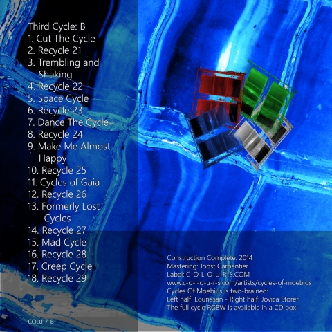 Cycles Of Moebius - RGBW - B - back of FLAC or MP3 version